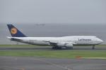 T.Kawaseさんが、羽田空港で撮影したルフトハンザドイツ航空 747-830の航空フォト(写真)