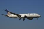 飛行機ゆうちゃんさんが、成田国際空港で撮影したユナイテッド航空 787-8 Dreamlinerの航空フォト(写真)
