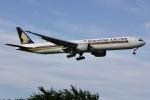 しゃこ隊さんが、成田国際空港で撮影したシンガポール航空 777-312/ERの航空フォト(写真)