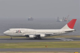 kumagorouさんが、羽田空港で撮影した日本航空 747-446Dの航空フォト(写真)