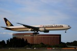 ☆ライダーさんが、成田国際空港で撮影したシンガポール航空 777-312/ERの航空フォト(写真)