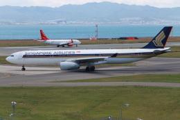 A.Tさんが、関西国際空港で撮影したシンガポール航空 A330-343Xの航空フォト(飛行機 写真・画像)