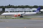 しゃこ隊さんが、成田国際空港で撮影したスカンジナビア航空 A340-313Xの航空フォト(写真)
