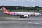 しゃこ隊さんが、成田国際空港で撮影したタイ・エアアジア・エックス A330-343Xの航空フォト(写真)