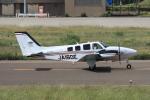 西風さんが、大館能代空港で撮影したジャプコン G58 Baronの航空フォト(写真)