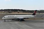 エルさんが、成田国際空港で撮影したデルタ航空 A350-941XWBの航空フォト(写真)