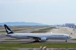 mild lifeさんが、関西国際空港で撮影したキャセイパシフィック航空 777-367の航空フォト(写真)