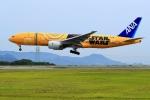 くれないさんが、高松空港で撮影した全日空 777-281/ERの航空フォト(写真)