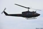 れんしさんが、防府北基地で撮影した陸上自衛隊 UH-1Jの航空フォト(写真)