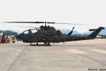 れんしさんが、防府北基地で撮影した陸上自衛隊 AH-1Sの航空フォト(写真)