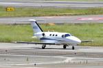 鈴鹿@風さんが、名古屋飛行場で撮影した日本法人所有 510 Citation Mustangの航空フォト(写真)