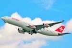 ちっとろむさんが、成田国際空港で撮影したスイスインターナショナルエアラインズ A340-313Xの航空フォト(写真)