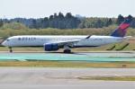 amagoさんが、成田国際空港で撮影したデルタ航空 A350-941XWBの航空フォト(写真)