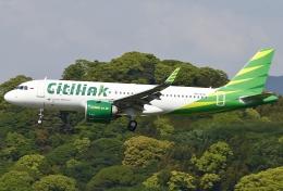 あしゅーさんが、福岡空港で撮影したシティリンク A320-251Nの航空フォト(写真)