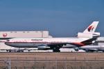 トロピカルさんが、成田国際空港で撮影したマレーシア航空 DC-10-30の航空フォト(写真)
