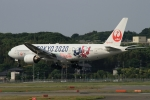 ウッディーさんが、福岡空港で撮影した日本航空 777-246の航空フォト(写真)