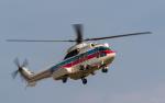 ひげじいさんが、庄内空港で撮影した国土交通省 地方整備局 AS332L2 Super Puma Mk2の航空フォト(写真)