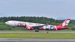 パンダさんが、新千歳空港で撮影したエアアジア・エックス A330-343Xの航空フォト(飛行機 写真・画像)