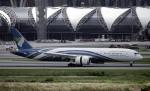 planetさんが、スワンナプーム国際空港で撮影したオマーン航空 787-9の航空フォト(写真)