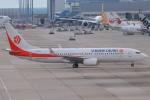 代打の切札さんが、関西国際空港で撮影した奥凱航空 737-86Nの航空フォト(写真)