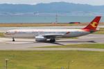 代打の切札さんが、関西国際空港で撮影した天津航空 A330-343Xの航空フォト(写真)