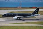 代打の切札さんが、関西国際空港で撮影したスターフライヤー A320-214の航空フォト(写真)
