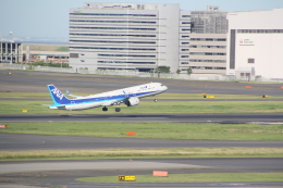 AntonioKさんが、羽田空港で撮影した全日空 A321-272Nの航空フォト(飛行機 写真・画像)