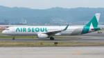 coolinsjpさんが、関西国際空港で撮影したエアソウル A321-231の航空フォト(写真)