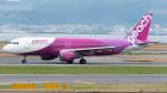 coolinsjpさんが、関西国際空港で撮影したピーチ A320-214の航空フォト(写真)