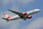 飛行機ゆうちゃんさんが、成田国際空港で撮影したオーストリア航空 777-2B8/ERの航空フォト(写真)