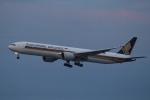 ウネウネさんが、成田国際空港で撮影したシンガポール航空 777-312/ERの航空フォト(飛行機 写真・画像)