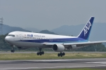 qooさんが、高松空港で撮影した全日空 767-381/ERの航空フォト(写真)