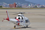 パンダさんが、函館空港で撮影した日本法人所有 AW109SP GrandNewの航空フォト(飛行機 写真・画像)