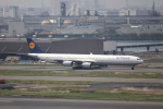 FLYINGHONUさんが、羽田空港で撮影したルフトハンザドイツ航空 A340-642Xの航空フォト(写真)