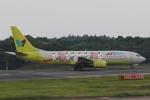 木人さんが、成田国際空港で撮影したジンエアー 737-86Nの航空フォト(写真)