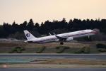 リンリンさんが、成田国際空港で撮影した中国東方航空 A321-231の航空フォト(写真)