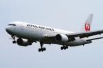 うらしまさんが、高松空港で撮影した日本航空 767-346/ERの航空フォト(写真)