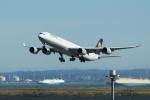 mogusaenさんが、羽田空港で撮影したルフトハンザドイツ航空 A340-642Xの航空フォト(飛行機 写真・画像)