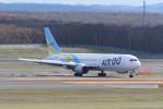 kuro2059さんが、新千歳空港で撮影したAIR DO 767-33A/ERの航空フォト(飛行機 写真・画像)
