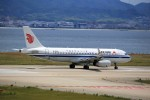 T.Sazenさんが、関西国際空港で撮影した中国国際航空 A320-232の航空フォト(飛行機 写真・画像)