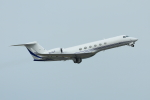 mogusaenさんが、成田国際空港で撮影したWilmington Trust Company  G-V Gulfstream V Shavitの航空フォト(飛行機 写真・画像)