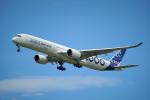 ちゃぽんさんが、ル・ブールジェ空港で撮影したエアバス A350-1041の航空フォト(飛行機 写真・画像)