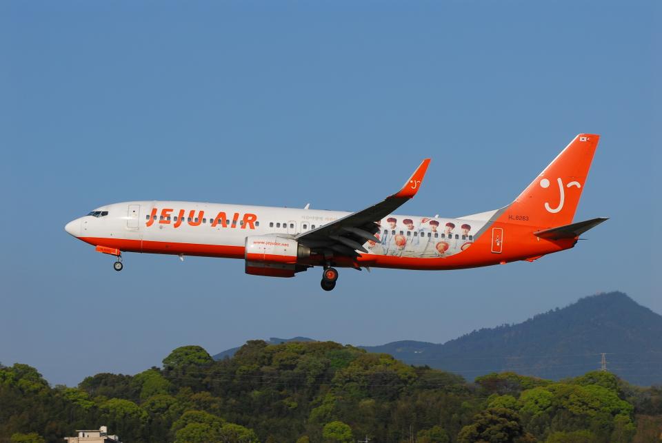 ITM58さんのチェジュ航空 Boeing 737-800 (HL8263) 航空フォト