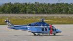 パンダさんが、函館空港で撮影した北海道警察 AW139の航空フォト(写真)