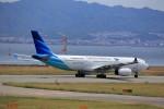 T.Sazenさんが、関西国際空港で撮影したガルーダ・インドネシア航空 A330-343Xの航空フォト(飛行機 写真・画像)