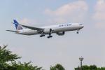 ken_kenさんが、成田国際空港で撮影したユナイテッド航空 777-322/ERの航空フォト(飛行機 写真・画像)