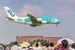 ken_kenさんが、成田国際空港で撮影した全日空 A380-841の航空フォト(飛行機 写真・画像)