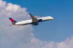 ken_kenさんが、成田国際空港で撮影したデルタ航空 A350-941XWBの航空フォト(飛行機 写真・画像)
