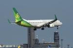 飛行機ゆうちゃんさんが、成田国際空港で撮影した春秋航空日本 737-86Nの航空フォト(写真)