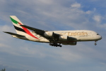 みるぽんたさんが、成田国際空港で撮影したエミレーツ航空 A380-861の航空フォト(写真)